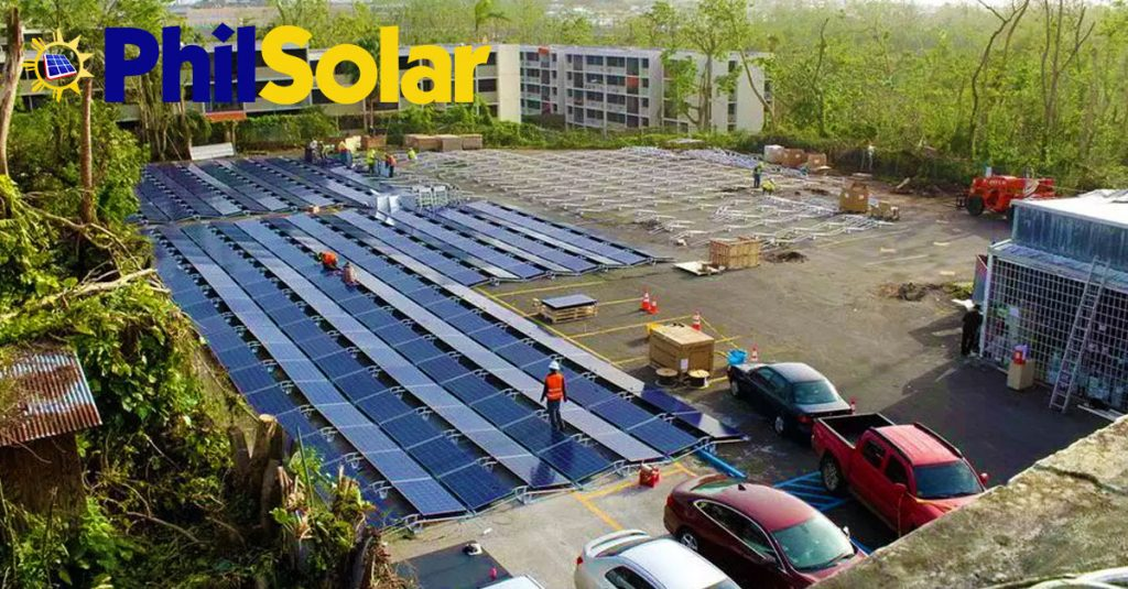 Puerto Rico Hospital With Solar Power Installation