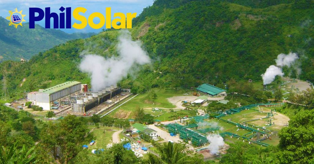 Southern Negros geothermal plant, Negros Oriental, Philippines