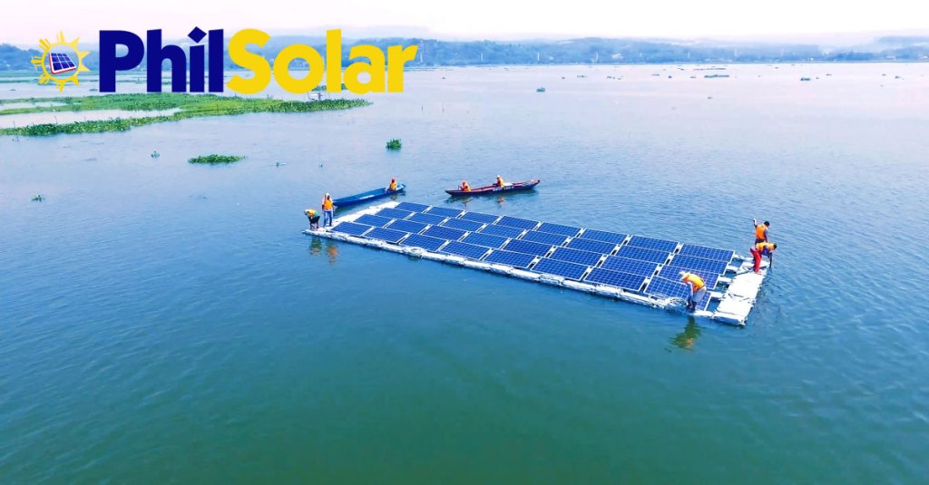 floating solar power farm Rizal Philippines