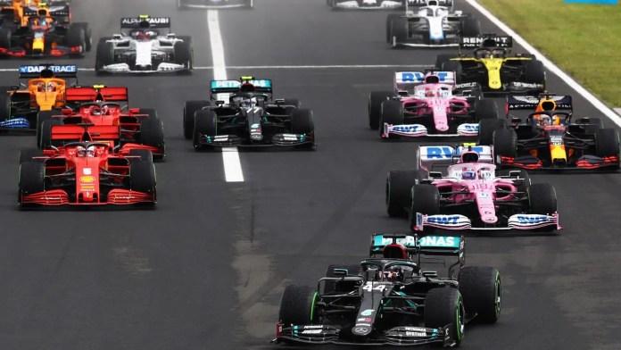 Formula 1 - Race Track Barcelona