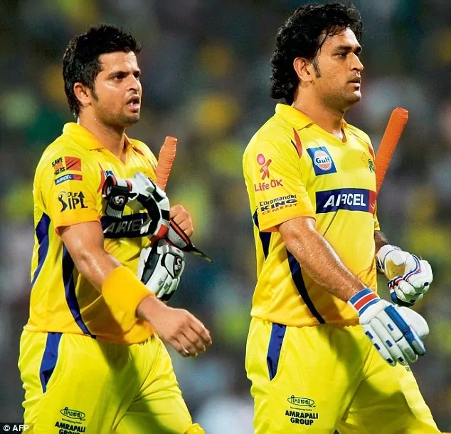 MS Dhoni and Suresh Raina - IPL 2020
