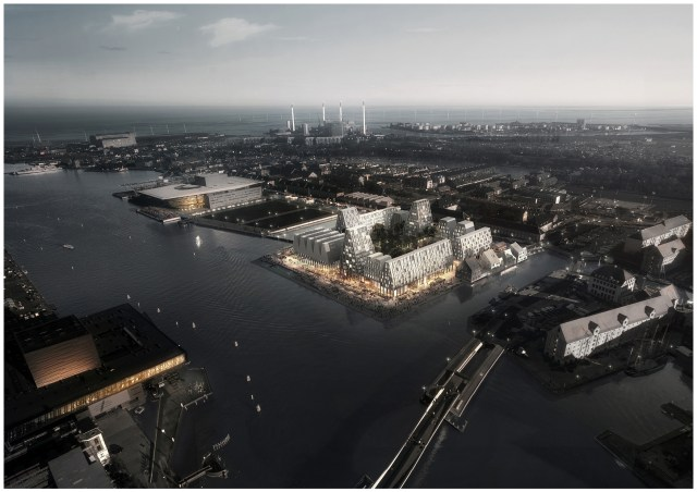 Copenhagen Paper Island - The future viewed by COBE