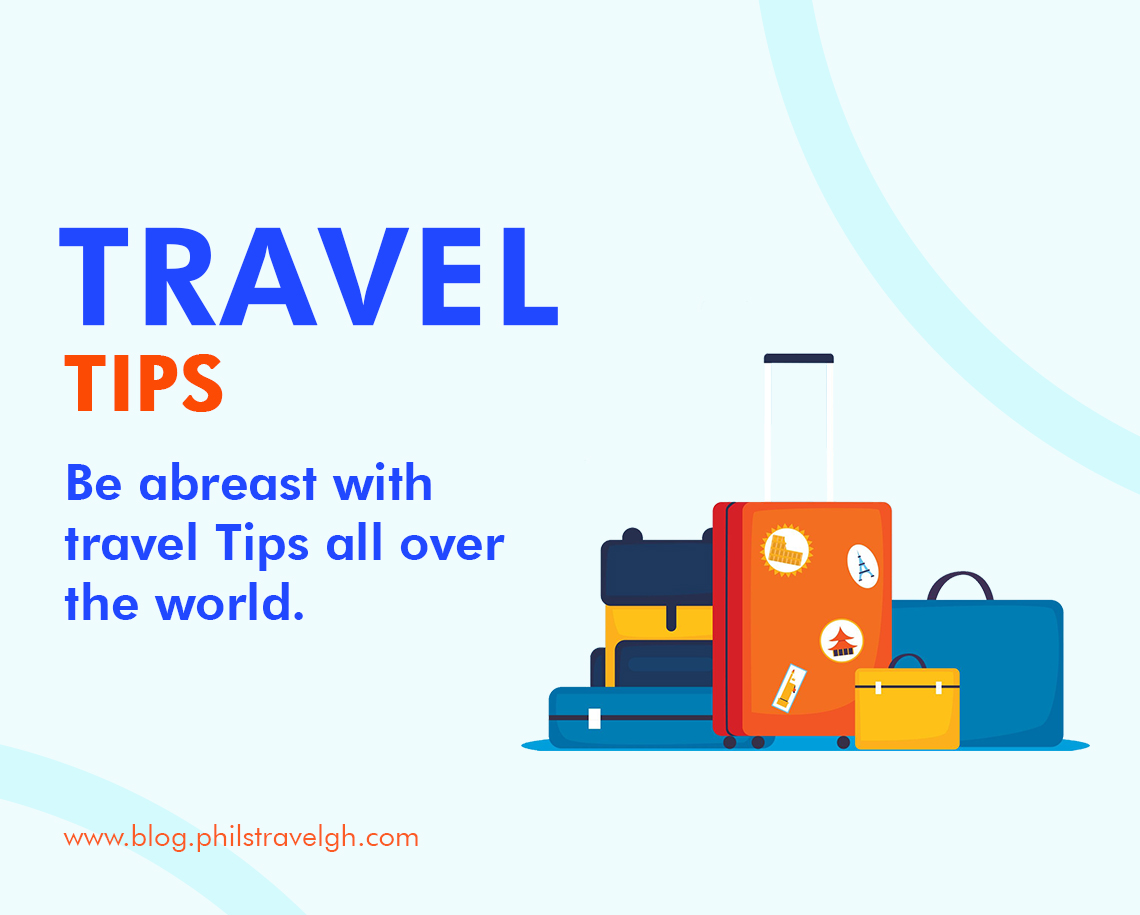 Be abreast with travel Tips all over the world.