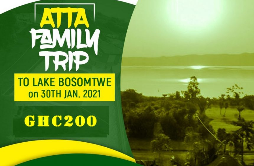 Lake Bosomtwe Family Trip