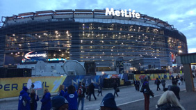 MetLife Stadium on Super Bowl Day