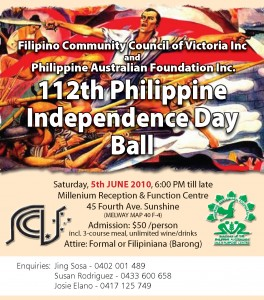 FCCVI Philippine Independence Day Ball