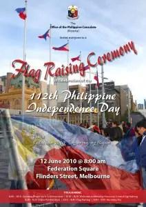 Philippine Flag Raising Ceremony - Melbourne