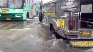 Flood in Metro Manila Philippines August 2012