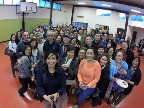 Group photo during the First General Assembly of CFC-FFL Melbourne with Servant General Frank Padilla