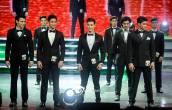 Finalists for Mister Overseas
