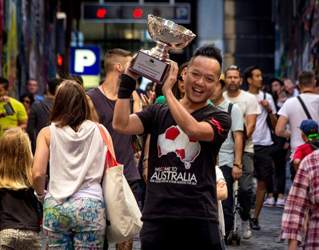Gary Lee, Australian of the Year awardee 2016