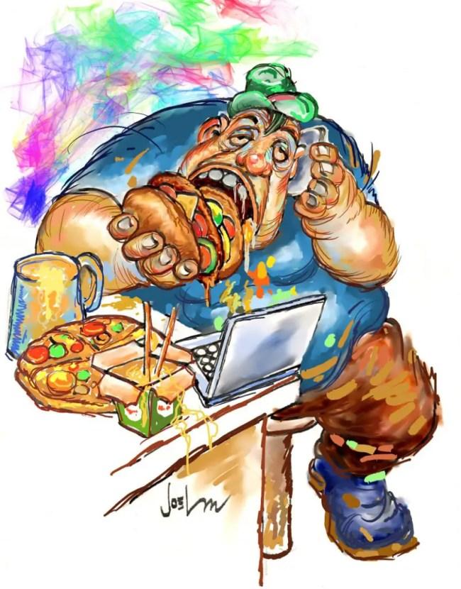 Editorial Cartoon April 2016 by Joel P. Magpayo