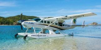Air Juan grand caravan seaplane