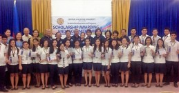 2017 Awarding of 25 Scholars - Central Philippine University