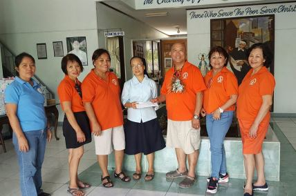 Donation to Asilo de Molo Home for the Aged, Iloilo City
