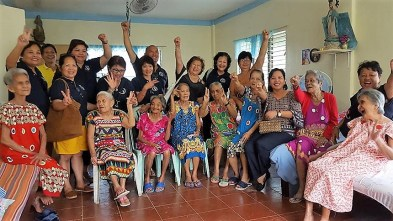Donation to Ladies of Charity Home for the Aged, Roxas City