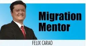 Felix Carao, Migration Mentor