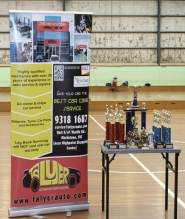 Trophies from Talyer Auto's Ryry and Pin Rutaquio