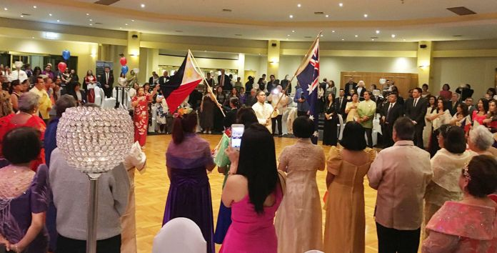 Independence Day celebration during the FCCVI Ball (Photo by Fred Jover)
