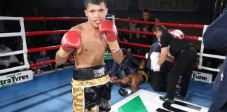 World of Boxing IBF #3, WBC #6, WBO #12 light flyweight Randy Petalcorin (28-2-1, 21 KOs) scored a knockout against Indonesian champion Oscar Raknafa (13-16,5 KOs) last 10 November at the Malvern Town Hall, Melbourne.