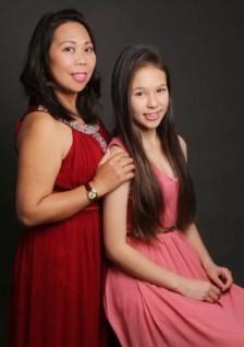 Lorie and Bianca Leggatt