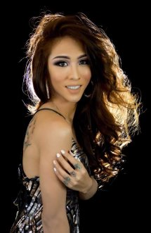 Sirenna Rivera, a commercial cookery student, graduate of the Fashion Institute of the Philippines