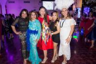 Guests and sponsors from around Melbourne and Geelong enjoyed the Rio Charity Ball (From L to R): Geraldine Equibal-Reyes of Philippine Tours, Carol Reid, Pin Rutaquio of Talyer Automotive, Rowena Rojo of Share Me A Dream, Eva Fullero Rudge