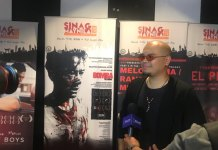Pstor at the 2018 Sinag Maynila Film Festival Gala