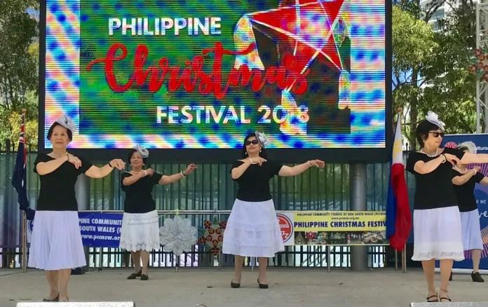 Seniors Modern Dancers at Philippine Pasko Festival 10th Nov 2018