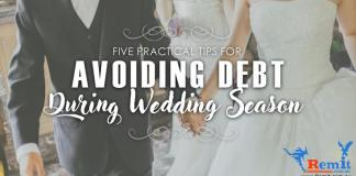 Avoiding wedding debt