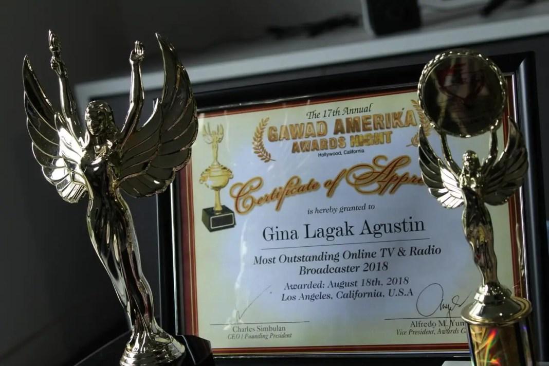 Filipino radio program award