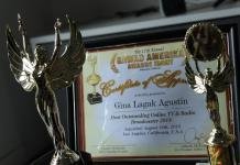 Filipino radio program award