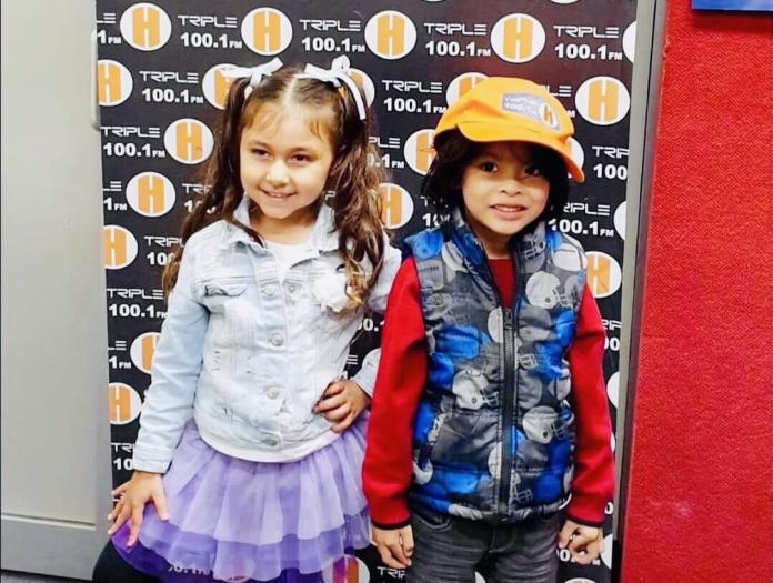 RG mini models at Triple H radio: Lilyah 'Lily' Mary Hawkings and Seeyan Ricardo
