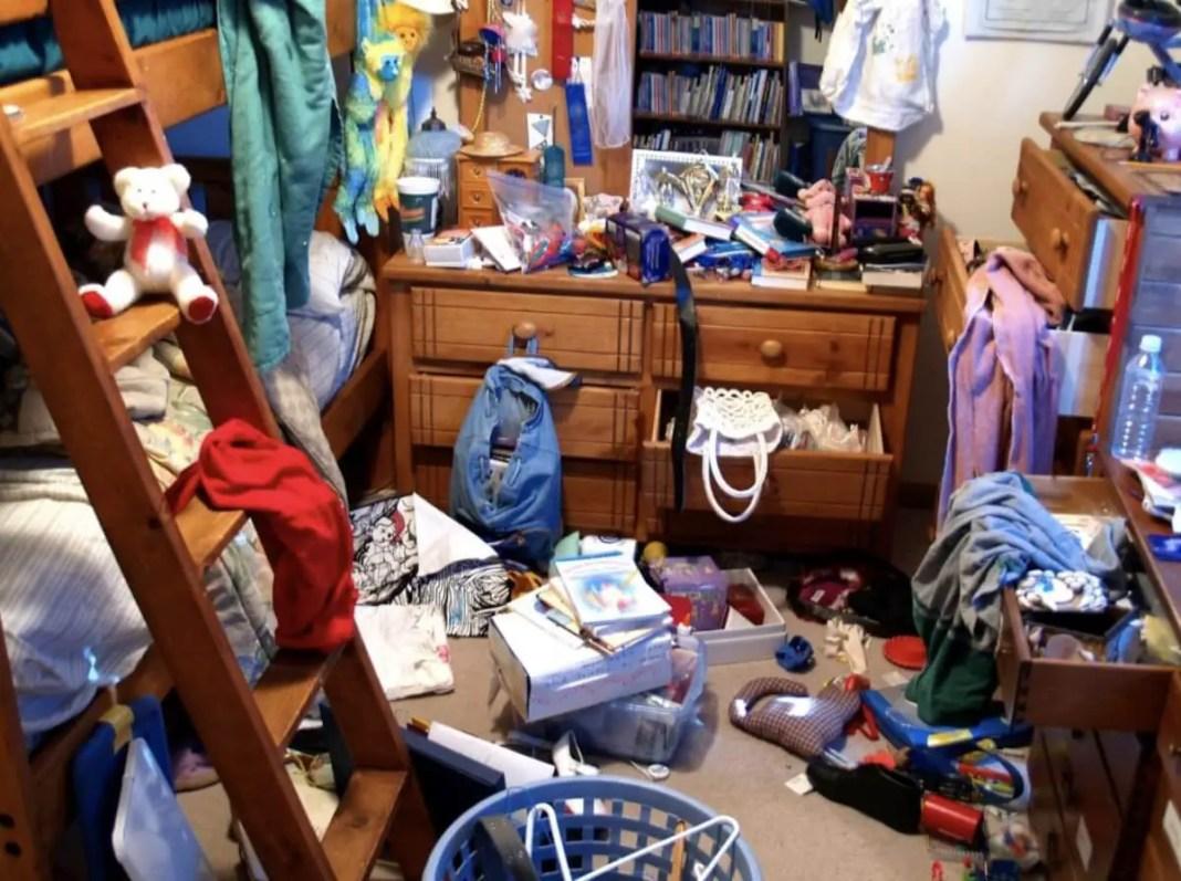 Clutter can be an eyesore