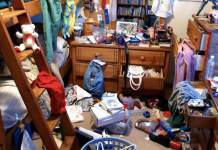 Clutter can be an eyesore