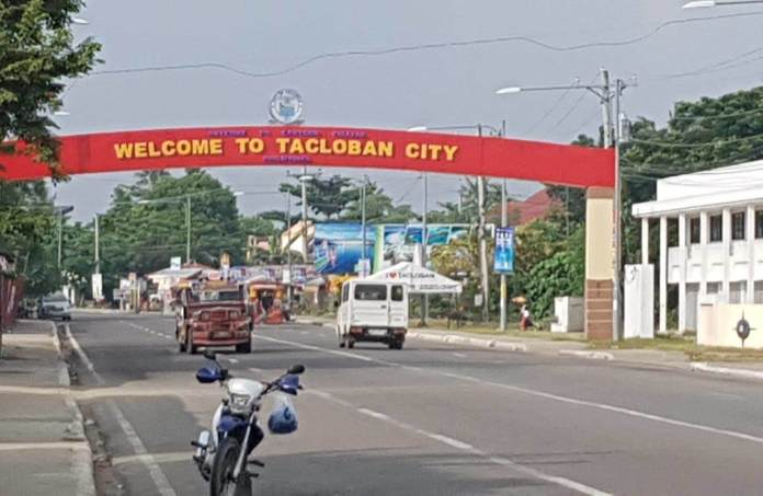 New Welcome to Tacloban City sign