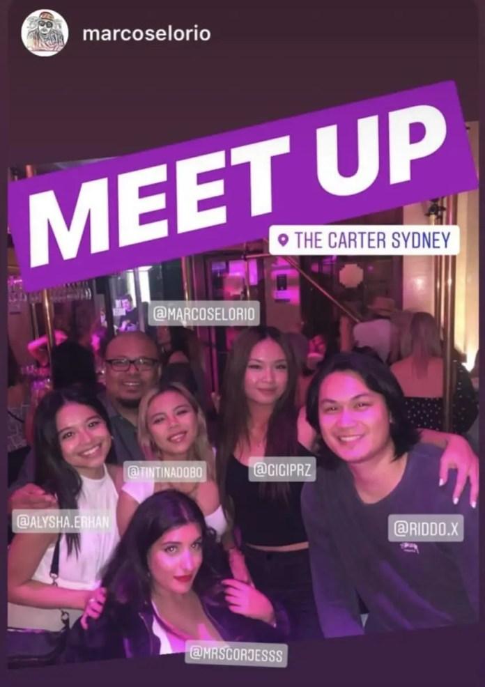 Filipino influencers meetup