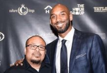 Marco Selorio with Kobe Bryant
