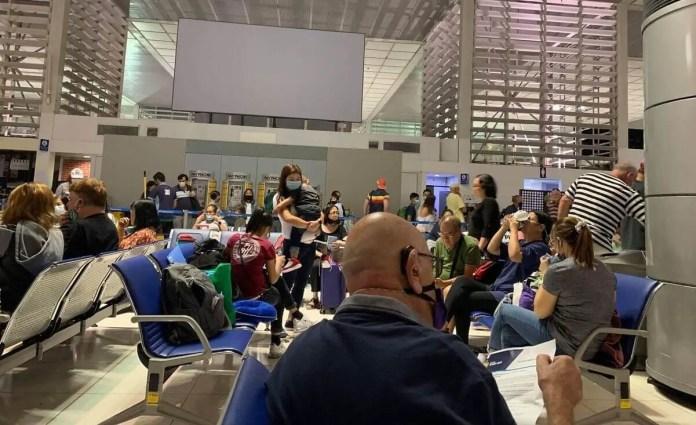 PAL boarding gate at NAIA | Photo: Gayzha Davao