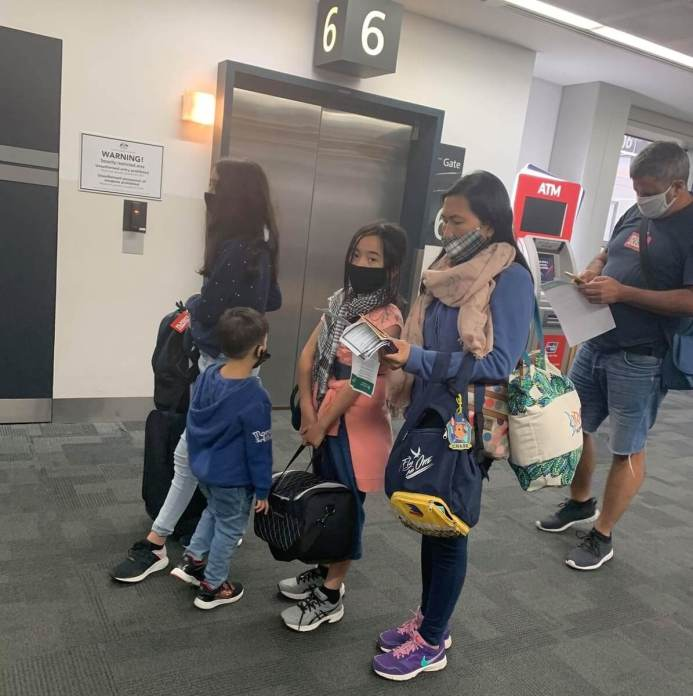 Passengers after disembarking | Photo: Gayzha Davao