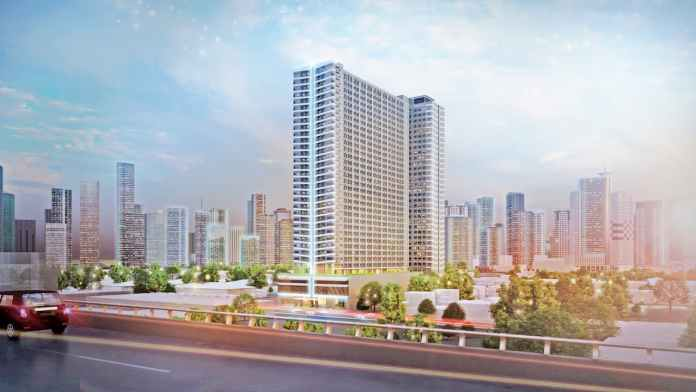 SMDC Mint Residences Facade