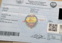 Sample NBI Clearance Photo from Facebook