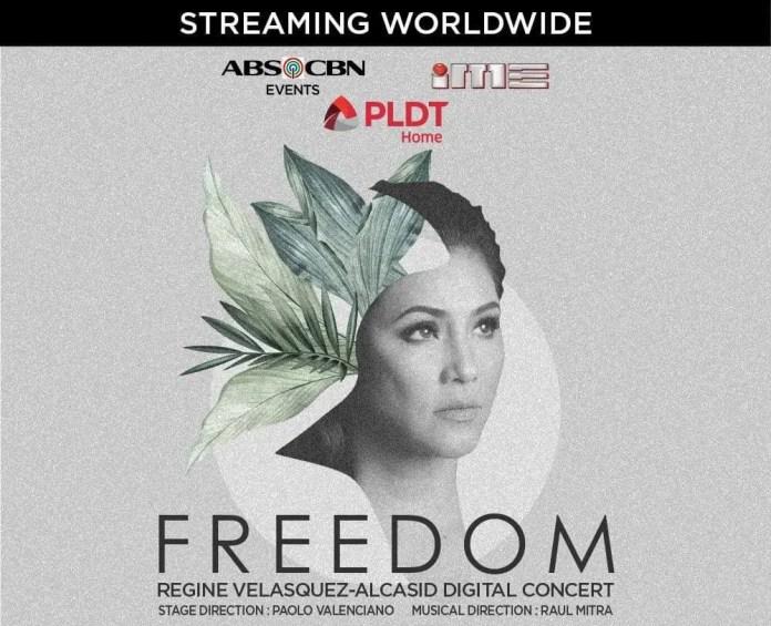 Freedom: Regine Velasquez-Alcasid Digital Concert