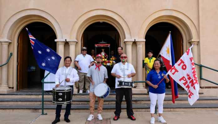 Santo Niño festival in South Australia
