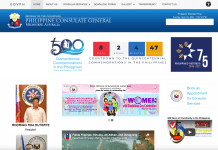 Philippine Consulate Melbourne website