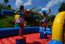 jumping castle | pxhere