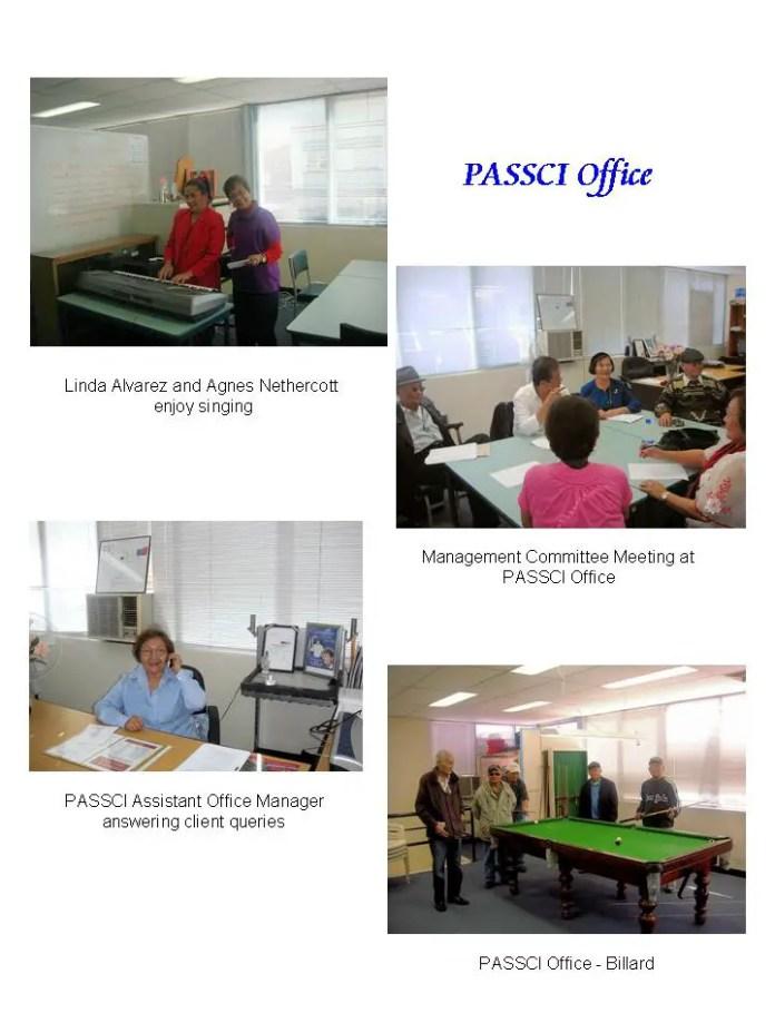 PASSCI Office