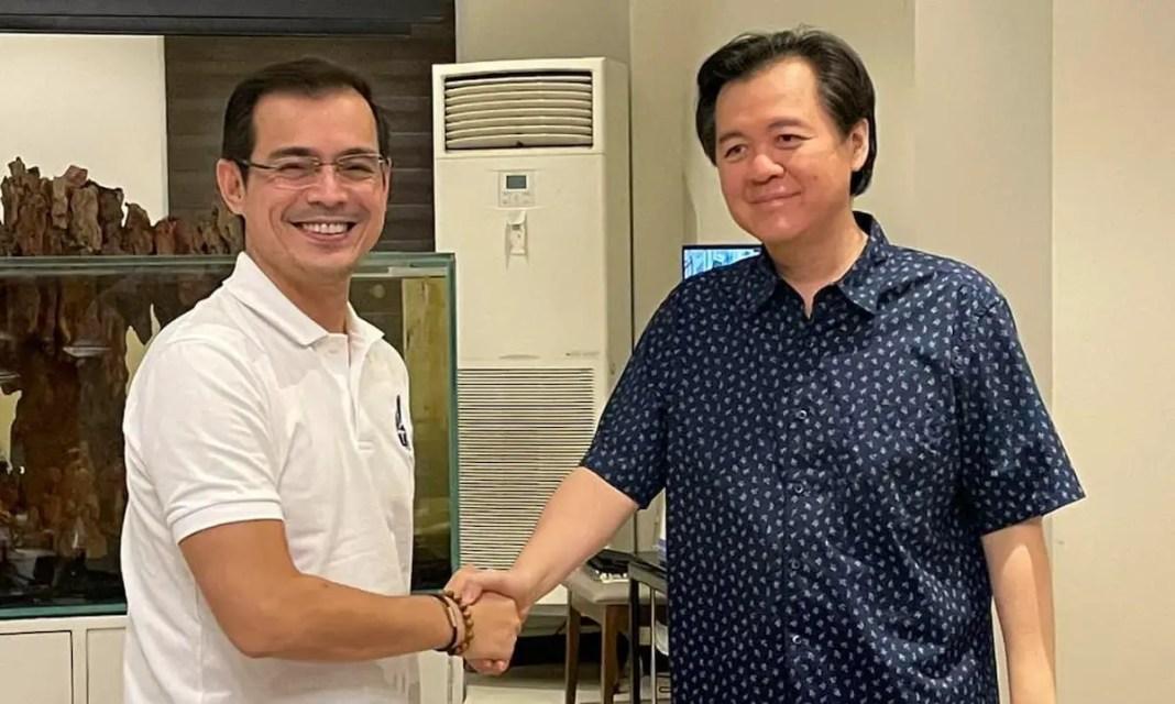 Mayor Isko Moreno with Doc Willie Ong | CREDIT: Karen Davila on Twitter