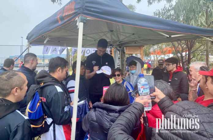 Kai Sotto's meet and greet with the Filipino community in South Australia