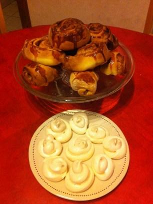 kanelbullar et meringues - philyra